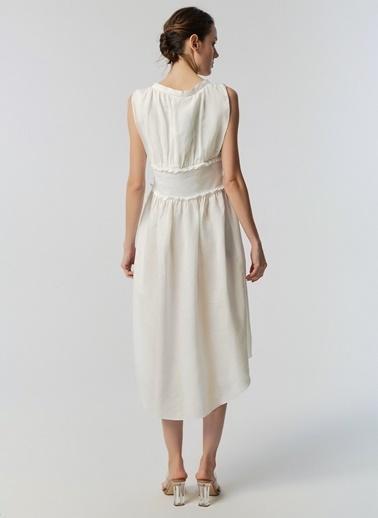 Monamoda Elbise Beyaz